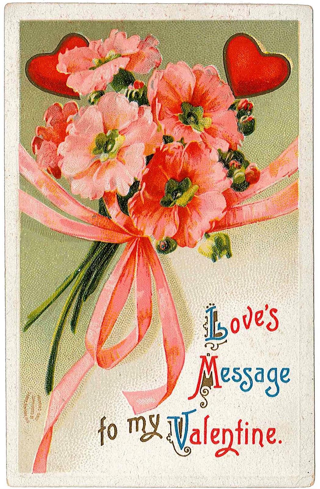 Vintage Valentine Card 34