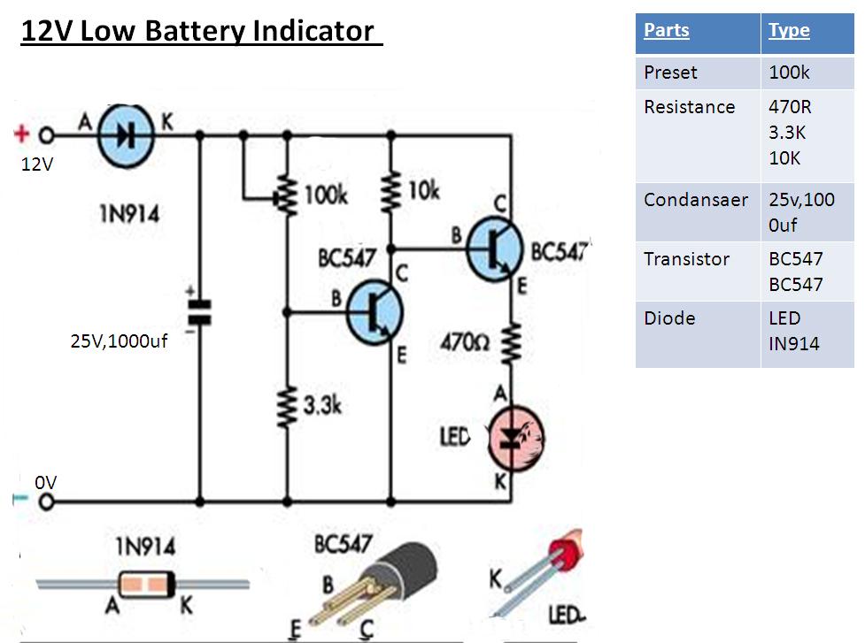 12v battery low voltage