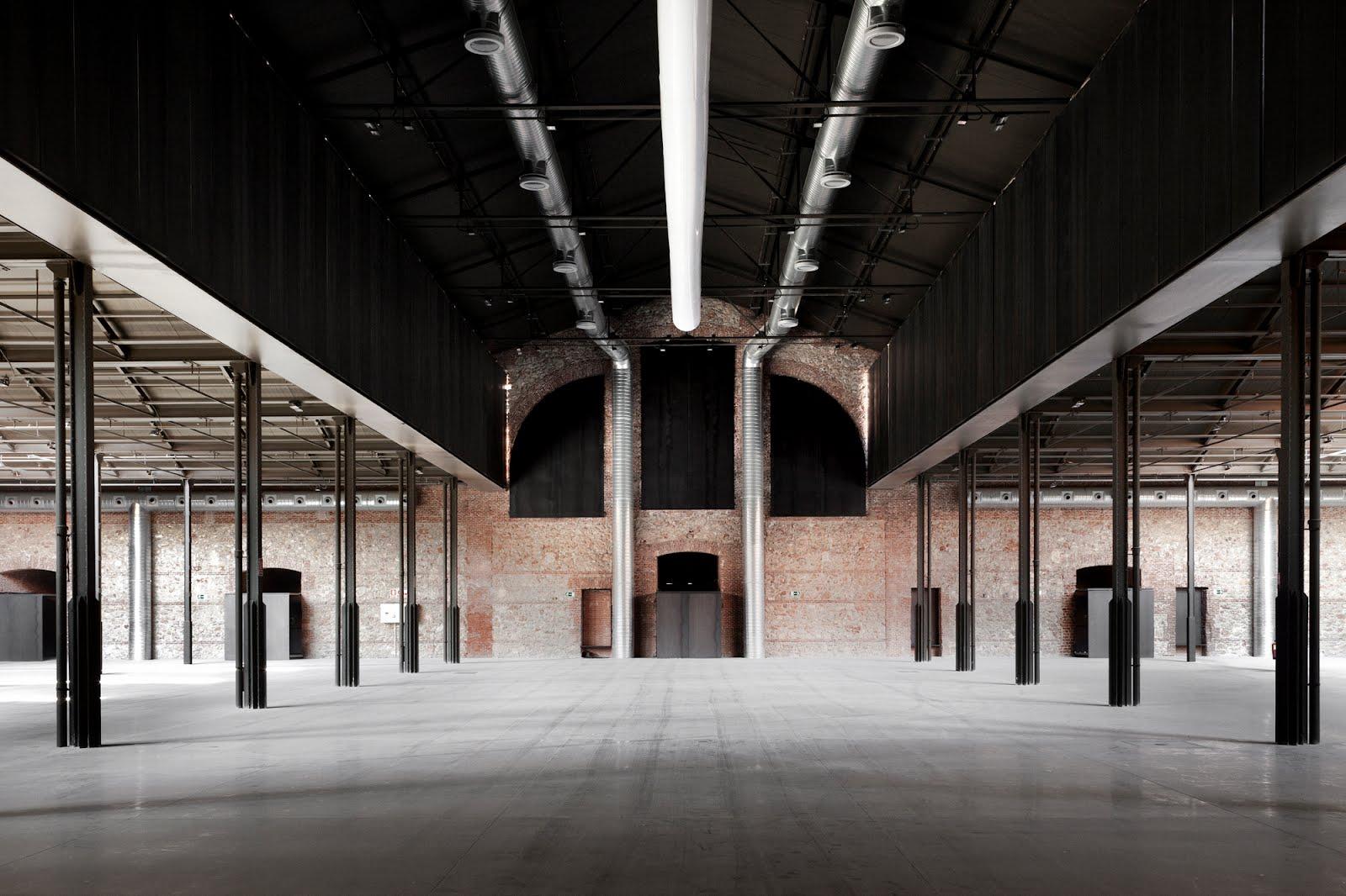 Bak nave 16 matadero madrid for Plataforma arquitectura