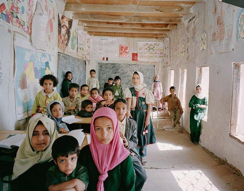 An Eye-Opening Look Into Classrooms Around The World - Yemen, Al Ishraq Primary, Akamat Al Me'gab