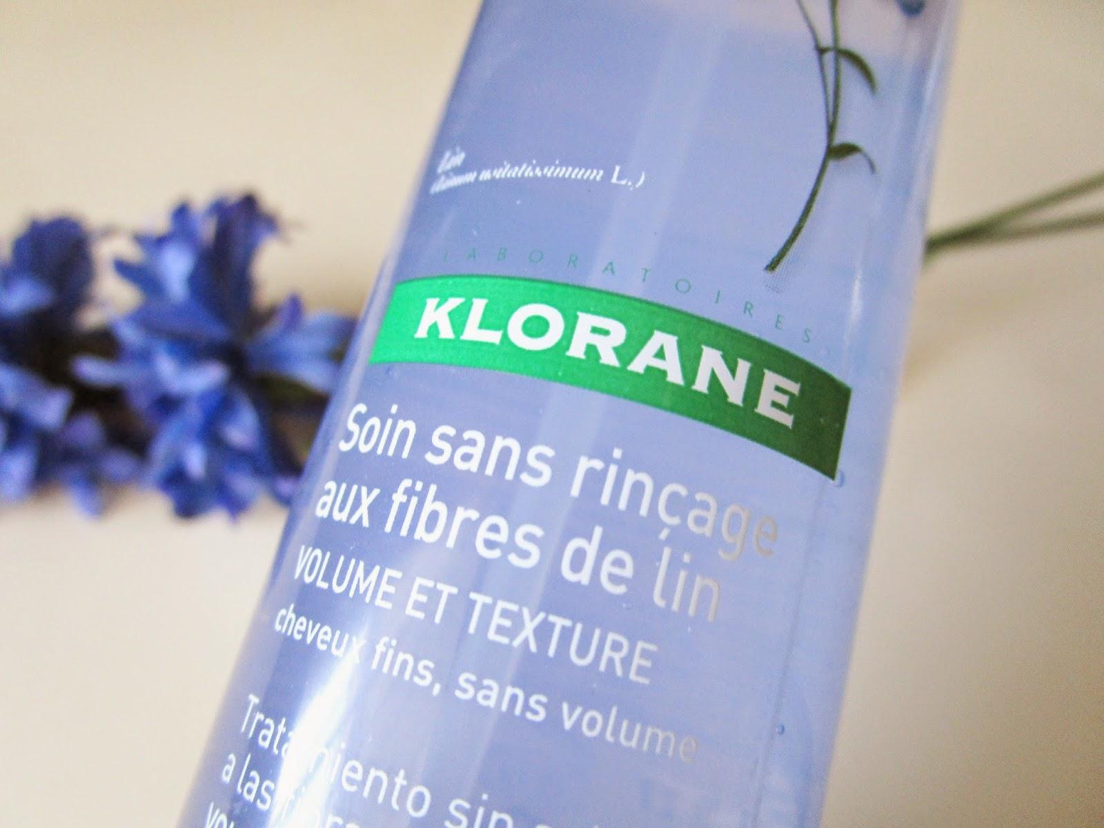 Tratamiento Sin Aclarado a las Fibras de Lino de Klorane
