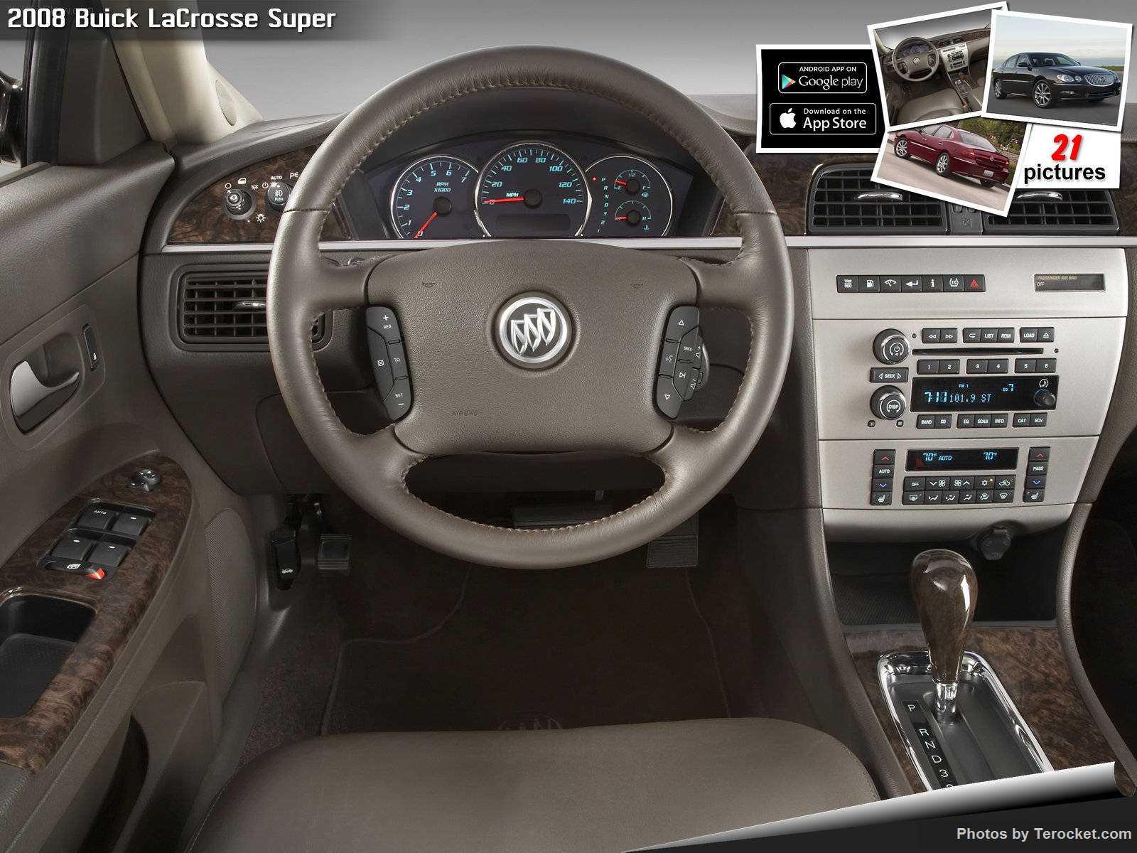 Hình ảnh xe ô tô Buick LaCrosse Super 2008 & nội ngoại thất