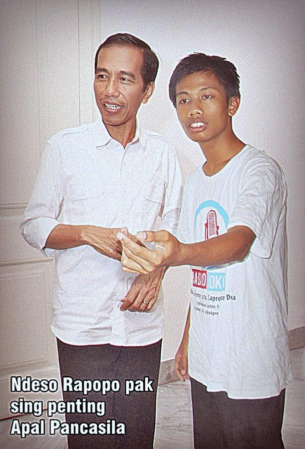 Jokowi dan Agus Mulyadi