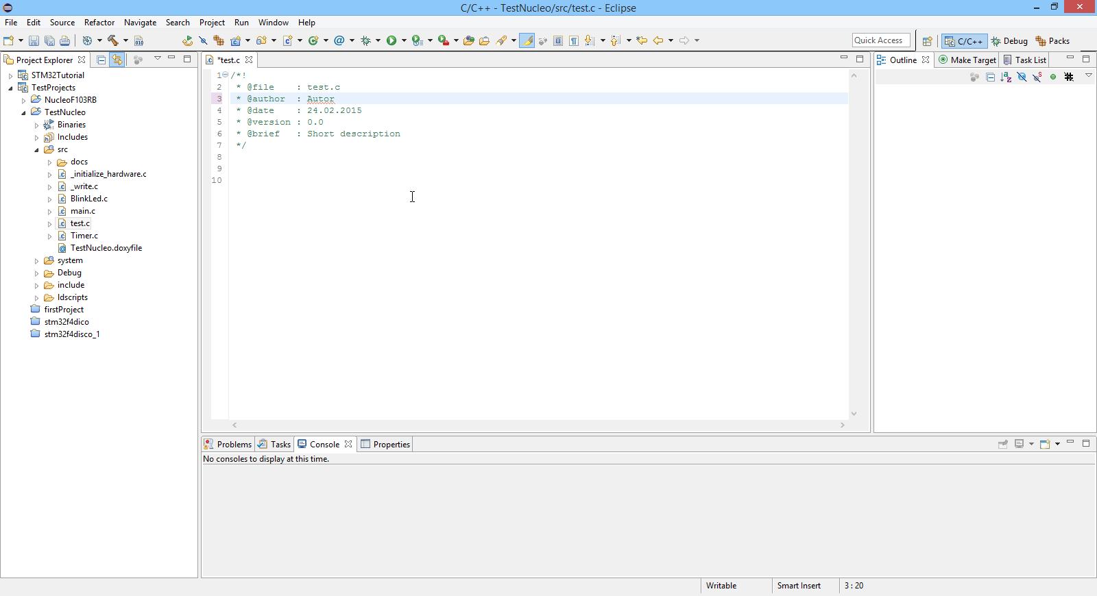 Embedded datei templates in eclipse anpassen f r doxygen for Eclipse html template