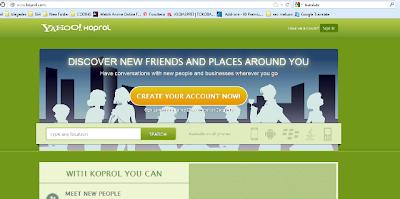 Layanan Koprol Yahoo resmi di tutup