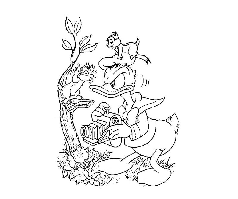 donald-duck-characters-coloring-pages