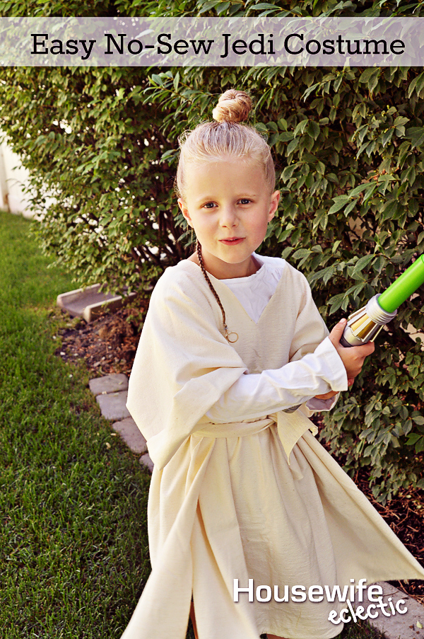 Easy no sew jedi costume housewife eclectic do you ever feel like you are living in a copy of if you give a mouse a cookie i do all the time except this time the title was solutioingenieria Choice Image