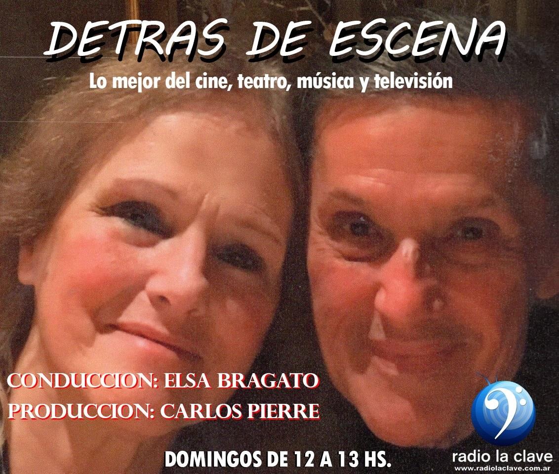 DETRÁS DE ESCENA, ELSA Y CARLOS DOMINGOS A LAS 12 PM