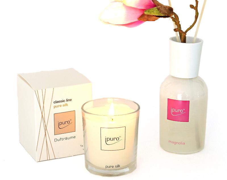 mel et fel raumd ftevon magnolien seide und cr me br l e. Black Bedroom Furniture Sets. Home Design Ideas