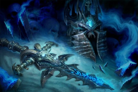 John Polidora ilustrações arte conceitual fantasia games blizzard Fall of the Lich King