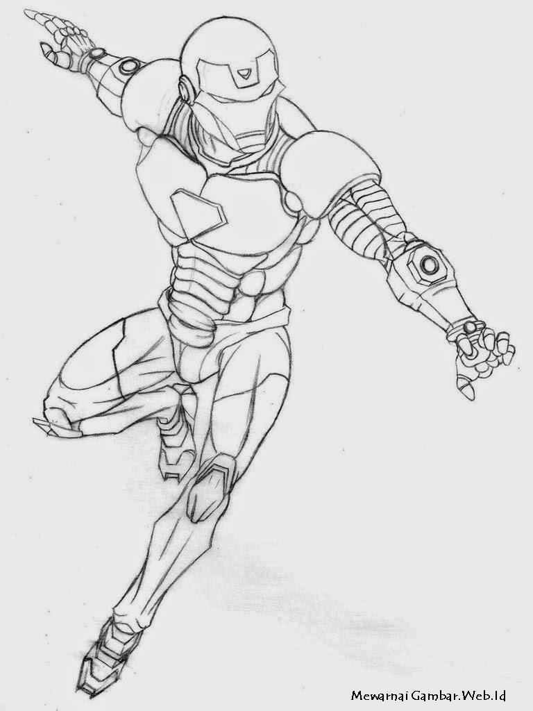 Related Posts Mewarnai Gambar Astro Boy Iron Man