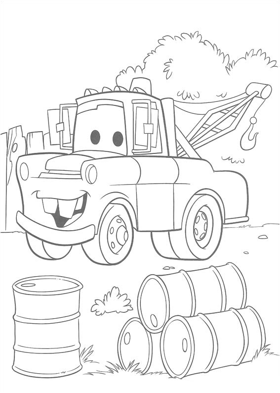 Disney Cars Coloring Pages Printable