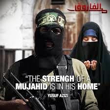 Kekuatan seorang mujahidin ada di dalam rumahnya.