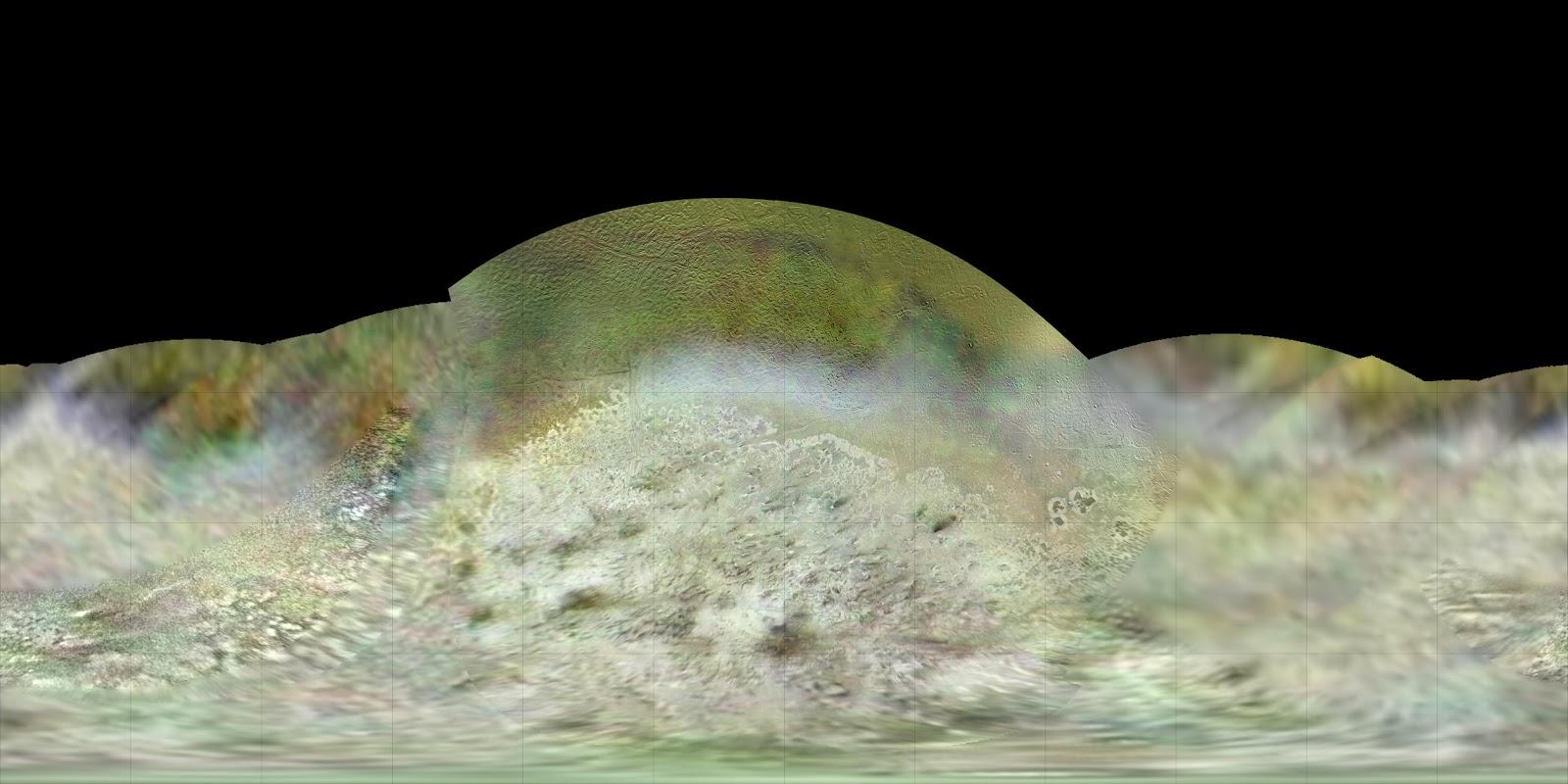 Подробную карту Тритона – спутника Сатурна создал Пол Шенк (2 фото)