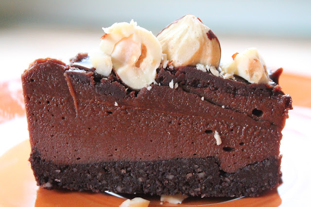 Chocolate Hazelnut Cheesecake Recipe — Dishmaps