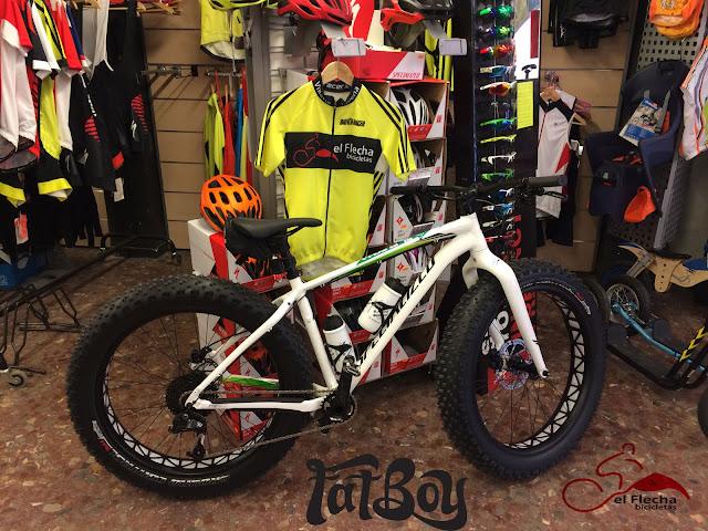 fatboy. bicicletas montaña mountanbike villena