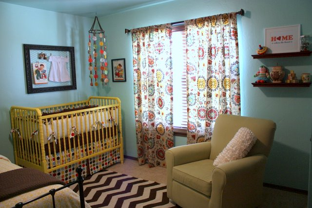 Chloe S Modern Vintage Nursery An Avid Notations Reader Katie M Sent Me Some Photos Of Her Daughter Room A Few Weeks Ago