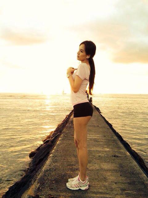 Trong số các Hoa hậu Việt, Mai Phương Thúy được đánh giá là có hình thể chuẩn nhất.