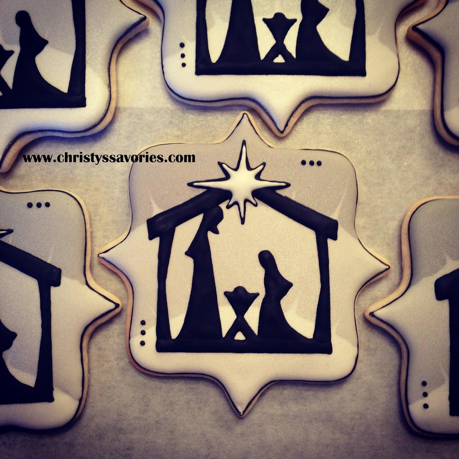 Christy S Savories Nativity Cookies