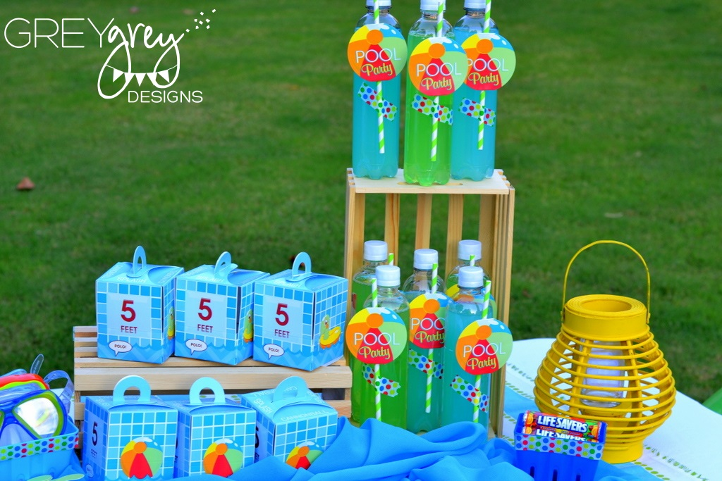GreyGrey Designs Summer Pool Party By And Birthday Express