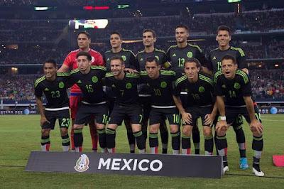 Lista preliminar México vs Estados Unidos