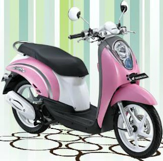 2012 Honda Scoopy Pink