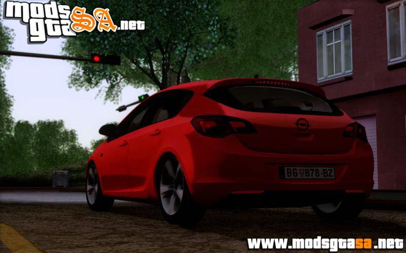 SA - Opel Astra J 2011