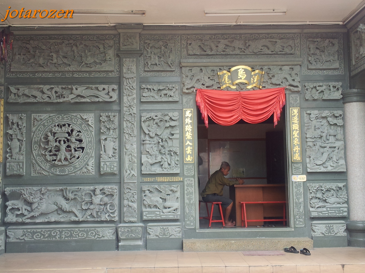 Temple Wall Panels : Footsteps jotaro s travels photo gallery malaysia
