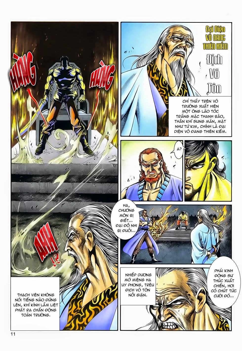 Long Hổ Phong Bạo chap 4 - Trang 10