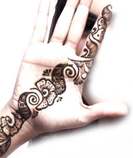 Mehndi Designs Arabic Simple And Easy : Mehndi designs for hands easy arabic