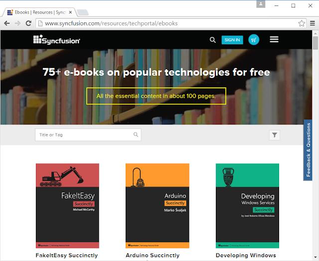 75+ E-Books On Pop Technologies For Free