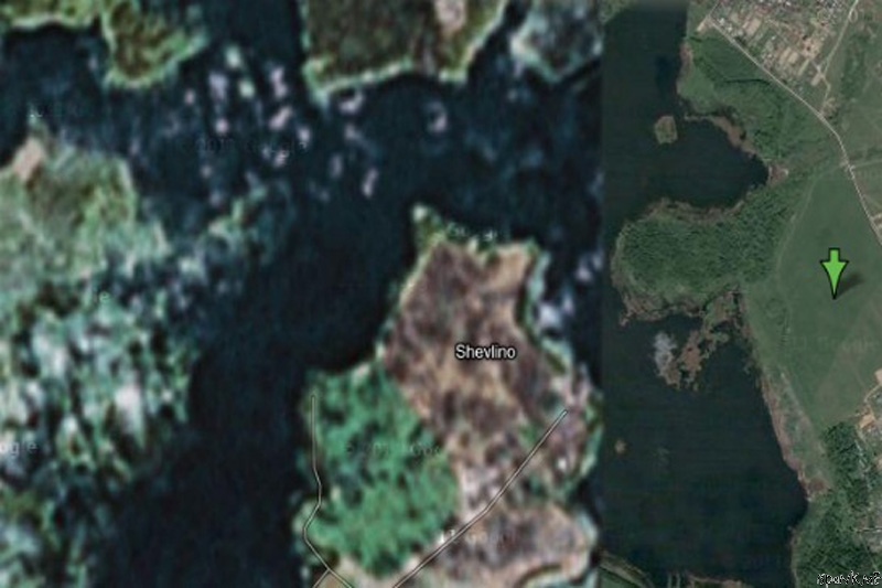 22 Places that are Suspisciously Blurred Out on Google Maps