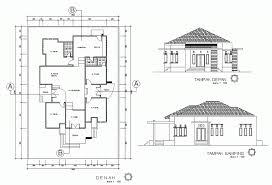 desain rumah tipe 21 elegan