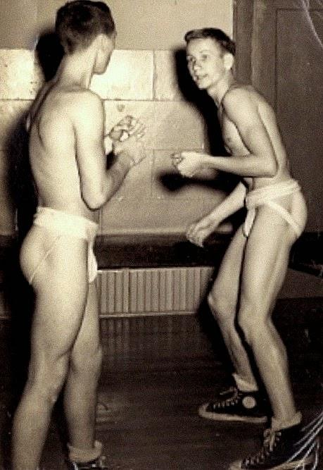 group shower nude movie