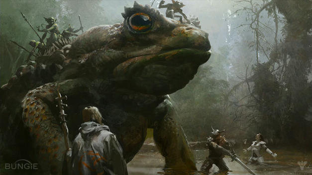 Destiny Giant Frog