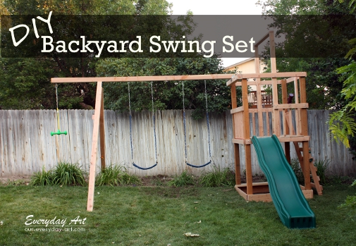 how to make diy net bridge for playground