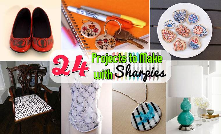 24 Projects to Make with Sharpies