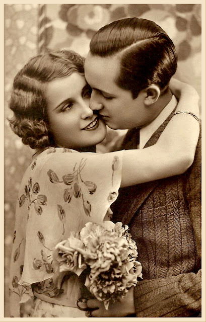 foto de pareja vintage