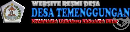 Website Resmi Desa Temenggungan