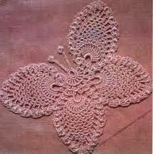 mariposas em croche no blog croche com receita