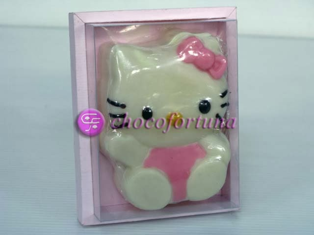 Souvenir coklat cokelat hello kitty