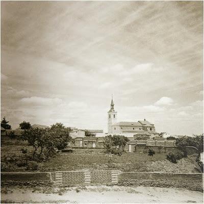 Abuelohara Leganes vista del templo parroquial