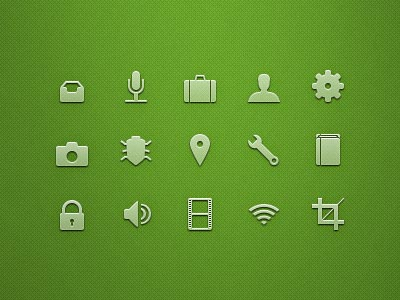 Beautiful Glyph Icons