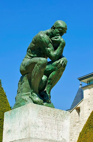Thinker >> The Language Journal The Thinker A Symbol Of Reflection And Deep