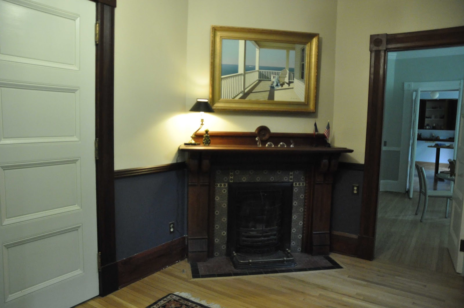 Entry Foyer With Fireplace : The buckeye and frog five wood burning er coal