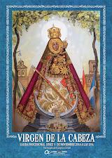 """Cartel anunciador de la """"Salida Procesional de Nuestra Señora de la Cabeza"""""""