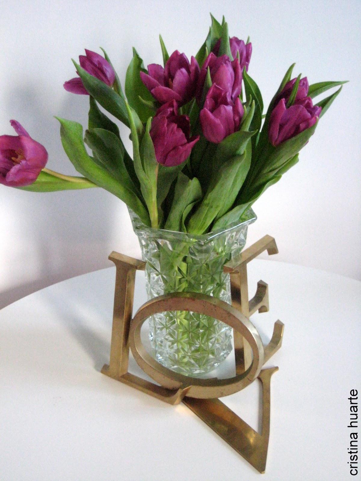 Un relato y unas flores para San Valentin | Decoración