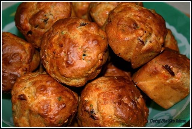 Muffinki śródziemnomorskie