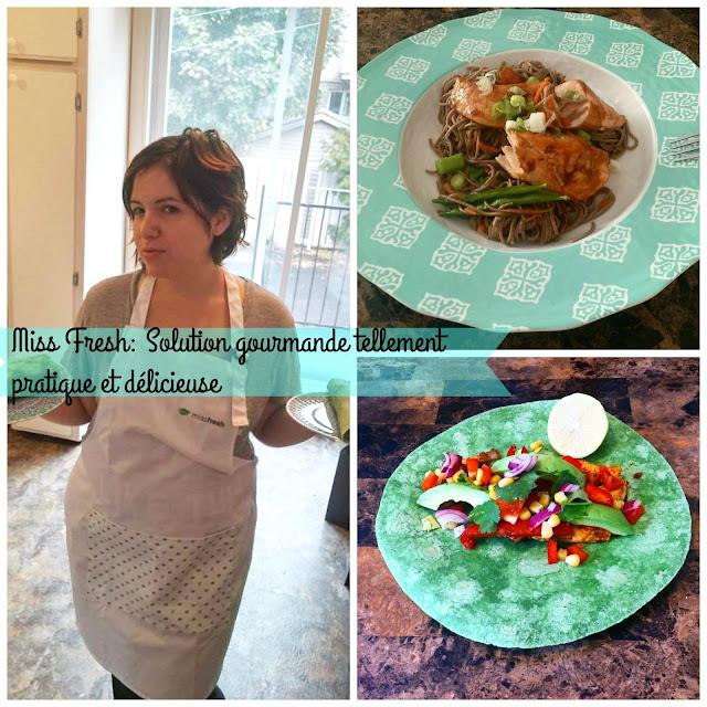 Miss Fresh: Solution gourmande tellement pratique et délicieuse