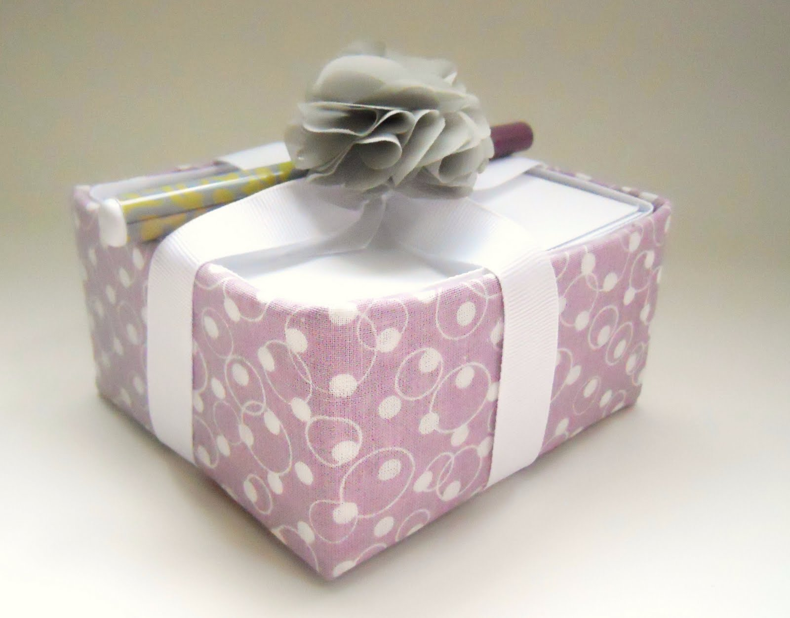 tissue box craft note paper holder gift delightfully noted